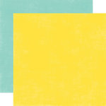Echo Park - Splash Collection - 12 x 12 Double Sided Paper - Yellow