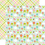 Echo Park - Spring Fling Collection - 12 x 12 Double Sided Paper - Full Bloom