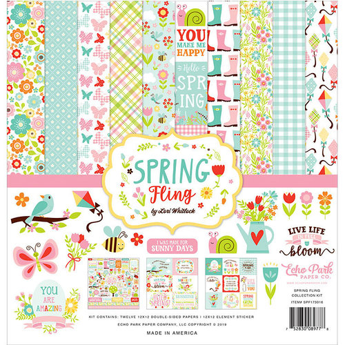 Echo Park - Spring Fling Collection - 12 x 12 Collection Kit