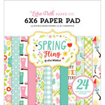 Echo Park - Spring Fling Collection - 6 x 6 Paper Pad