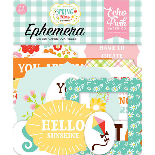 Echo Park - Spring Fling Collection - Ephemera