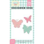 Echo Park - Spring Fling Collection - Designer Dies - Butterflies