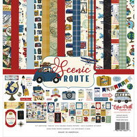 Echo Park - Scenic Route Collection - 12 x 12 Collection Kit
