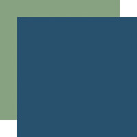 Echo Park - Scenic Route Collection - 12 x 12 Double Sided Paper - Navy