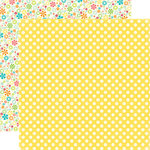 Echo Park - Sweet Summertime Collection - 12 x 12 Double Sided Paper - Sunny Spots