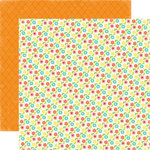 Echo Park - Sweet Summertime Collection - 12 x 12 Double Sided Paper - Flower Garden