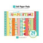 Echo Park - Sweet Summertime Collection - 6 x 6 Paper Pad