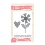 Echo Park - Sweet Summertime Collection - Designer Dies - Flower Love
