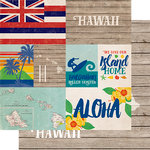 Echo Park - Stateside Collection - 12 x 12 Double Sided Paper - Hawaii