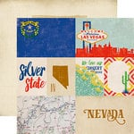 Echo Park - Stateside Collection - 12 x 12 Double Sided Paper - Nevada