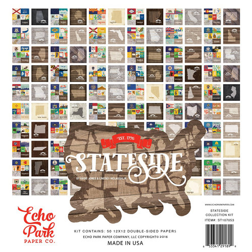 Echo Park - Stateside Collection - 12 x 12 Collection Kit
