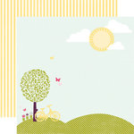 Echo Park - Springtime Collection - 12 x 12 Double Sided Paper - Spring Day