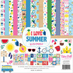 Echo Park - I Love Summer Collection - 12 x 12 Collection Kit