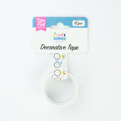 Echo Park - I Love Summer Collection - Decorative Tape - Bike Ride