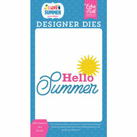 Echo Park - I Love Summer Collection - Designer Dies - Hello Summer Sun