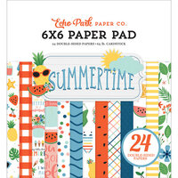 Echo Park - Summertime Collection - 6 x 6 Paper Pad