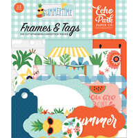 Echo Park - Summertime Collection - Frames and Tags