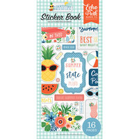 Echo Park - Summertime Collection - Cardstock Sticker Book