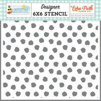 Echo Park - Summertime Collection - 6 x 6 Stencil - Sunkissed Spots