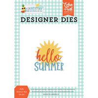 Echo Park - Summertime Collection - Decorative Dies - Hello Summer Sun