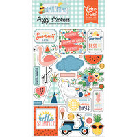 Echo Park - Summertime Collection - Puffy Stickers