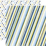 Echo Park - Pride and Joy Collection - 12 x 12 Double Sided Paper - Stripe
