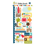 Echo Park - Sunshine Collection - Cardstock Stickers