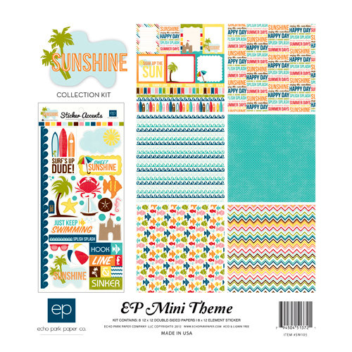 Echo Park - Sunshine Collection - 12 x 12 Collection Kit