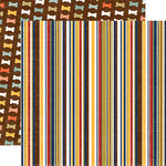 Echo Park - Woof Collection - 12 x 12 Double Sided Paper - Stripe