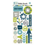 Echo Park - Boys Collection - Cardstock Stickers