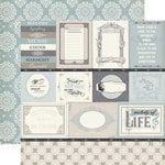 Echo Park - Melody of Life Collection - 12 x 12 Double Sided Paper - Journaling