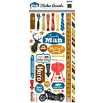 Echo Park - Family Man Collection - Cardstock Stickers