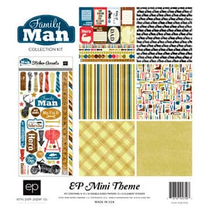 Echo Park - Family Man Collection - 12 x 12 Collection Kit