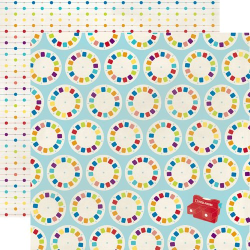 Echo Park - Toy Box Collection - 12 x 12 Double Sided Paper - Skip