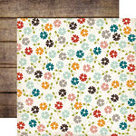 Echo Park - Homemade Collection - 12 x 12 Double Sided Paper - Floral