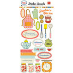 Echo Park - Grandma's Kitchen Collection - Cardstock Stickers