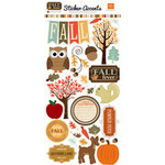 Echo Park - Fall Fever Collection - Cardstock Stickers