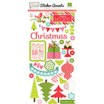 Echo Park - Happy Holidays Collection - Cardstock Stickers