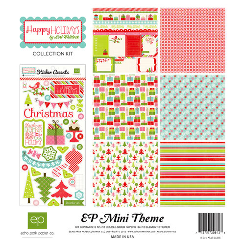 Echo Park - Happy Holidays Collection - 12 x 12 Collection Kit