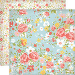 Echo Park - Sisters Collection - 12 x 12 Double Sided Paper - Sisters Floral