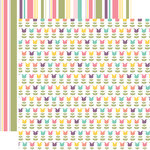 Echo Park - Easter Collection - 12 x 12 Double Sided Paper - Lilies