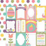 Echo Park - Easter Collection - 12 x 12 Double Sided Paper - Journaling