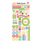 Echo Park - Birthday Girl Collection - Cardstock Stickers