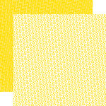 Echo Park - Yellow Submarine Collection - 12 x 12 Double Sided Paper - Mellow Yellow