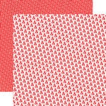 Echo Park - Red Collection - 12 x 12 Double Sided Paper - Rock'in Red