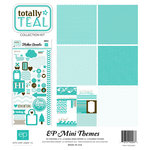 Echo Park - Totally Teal Collection - 12 x 12 Collection Kit