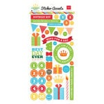 Echo Park - Birthday Boy Collection - Cardstock Stickers