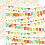 Echo Park - Birthday Boy Collection - 12 x 12 Double Sided Paper - Banner