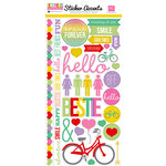 Echo Park - Best Friends Forever Collection - Cardstock Stickers