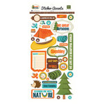 Echo Park - The Great Outdoors Collection - Cardstock Stickers